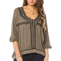 HELENE EMBROIDERED TOP