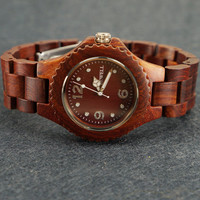 Mens Wood Watch - Unique Gift for Him
