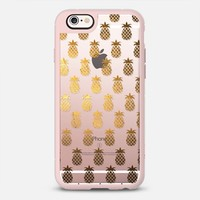 Golden Pineapples iPhone 6s case by Allison Reich | Casetify