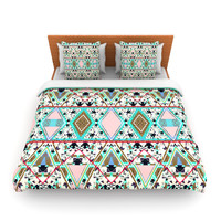 "Vasare Nar ""Deco Hippie"" Fleece Duvet Cover"