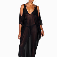 Sheer Bliss Maxi Cover-Up