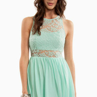 Lacey Tank Skater Dress $37