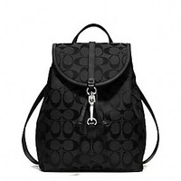 COACH CLASSIC SMALL BACKPACK IN SIGNATURE FABRIC