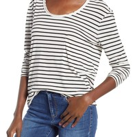 BP. Raw Edge Scoop Neck Tee | Nordstrom