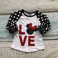 Abacaxi Kids Minnie Mouse shirt 12M-8T