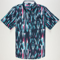 Lrg Abuse Your Illusion Mens Shirt Navy  In Sizes