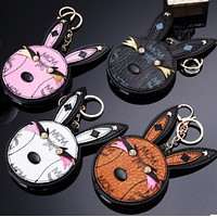 MCM creative rabbit head makeup mirror charger, hanging mirror mobile power supply