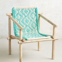 Diamond-Weave Chair by Anthropologie
