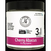 Cherry Abacus 15.27% Hemp Flower
