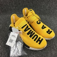 Adidas NMD X Human Race Pharrell Williams Yellow PW Human Being BB0619
