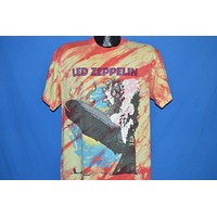 90s Led Zeppelin Tie Dye Album Cover t-shirt Large