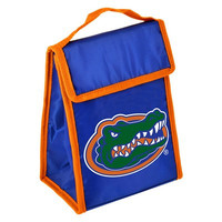 Florida Gators Official NCAA Big Logo Velcro Lunch Bag