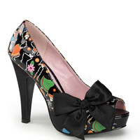 Pinup Couture Day of the Dead Platforms