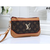 LV Tide brand women's fashion short zip wallet #4