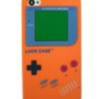 Apple iPhone 4S Gameboy Silicone Case Cover???Orange???