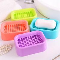 Great Useful Soap Dispenser Dish Case Holder Container Box for Bathroom Travel Carry Case Explosion Models