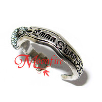 ONCE UPON A TIME Emma Dark One Dagger Ring