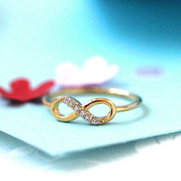Perfect INFINITE / INFINITY in silver,gold