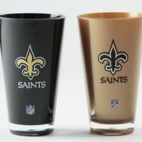 NFL New Orleans Saints 20-Ounce Insulated Tumbler - 2 Pack