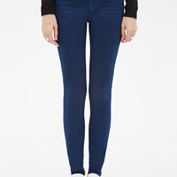 Zippered Mid-Rise Jeggings