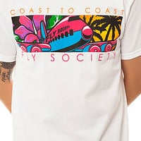 The Lift Off Tee in White