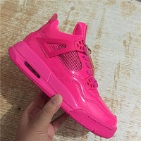 Air Jordan 4 Retro Valentine's Day Basketball Shoes