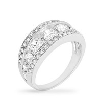Tiered Anniversary Ring, size : 08
