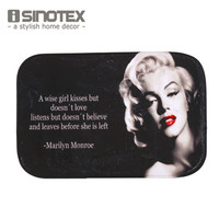 Floor Mat Bath Carpet Living Room 40x60cm/15.6x23.6'' Marilyn Monroe Rug Doormat Non-slip For Bedroom Door Mat 1PCS/Lot