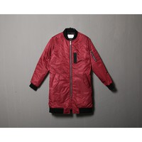 Mens Cotton Padded MA-1 Long Bomber at Fabrixquare