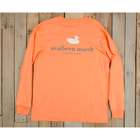 Southern Marsh Authentic Long Sleeve Tee-Melon