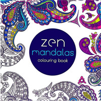 24 Pages Mandalas Flower Coloring Book