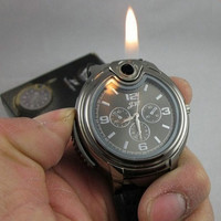 Men's Refillable Lighter Watch
