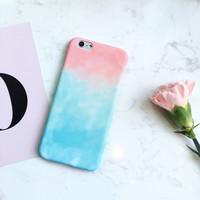 Tie-Dye Case Cover for iPhone X 8 7 7Plus & iPhone 6s 6 Plus Gift + Gift Box