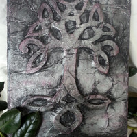 Book of Shadows,  Witches Grimoire,  Book of Mirrors, The Tree, The Book of Ways or simple The Book. Witchcraft Wicca