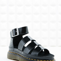 Dr. Martens Clarissa Strap Sandals in Black - Urban Outfitters