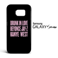 BEYONCE SONG V1815 Samsung Galaxy S6 Edge Case