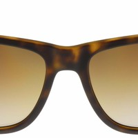 Cheap Ray-Ban Justin Sunglasses RB4165 865/T5 Tortoise   Brown Gradient Polarized  NIB outlet