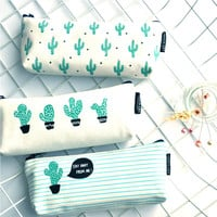 Cacti and Sheep Pencil Cases