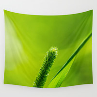 Hello, World! Wall Tapestry by Digital2real
