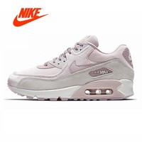 Original New Arrival Authentic NIKE AIR MAX 90 LX Women's Running Shoes Sport Outdoor Sneakers Good Quality 898512-600