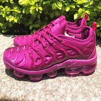 Nike Air Max Vapormax Plus Popular Women Air Cushion Sport Running Shoes Sneakers Purple