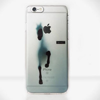 Horse Transparent Iphone 5 s 6 6s plus Cases