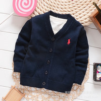 Children Sweaters Boys Girls Knitted Warm Sweater Cardigans Coats 2016 New Autumn Kids Clothing 2-6 Ages