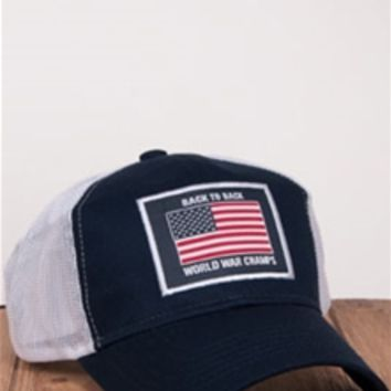 Rowdy Gentleman World War Champs Mesh Snapback Hat