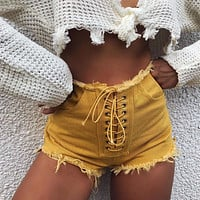 2018 Women'S Sexy Denim Shorts