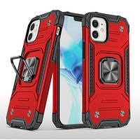 iPhone 12 Pro Max Phone Case Hard Armor Ring Holder Cover