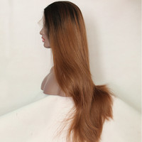 Silky Straight Extra Long Lace Front Wig