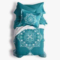Keepin' It Teal Comforter