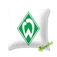 Werder Bremen Logo Square Pillow Cover