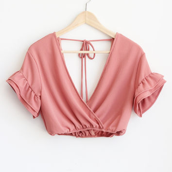 Willa Top - Dusty Rose